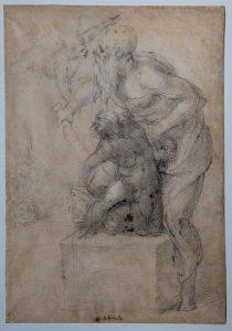 I Capolavori ritrovati di Michelangelo Buonarroti - sacrificio di isacco - sacrificio di isacco