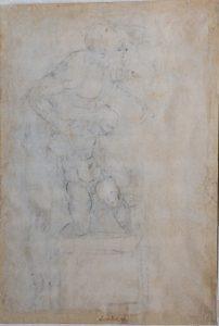 I Capolavori ritrovati di Michelangelo Buonarroti - sacrificio di isacco verso