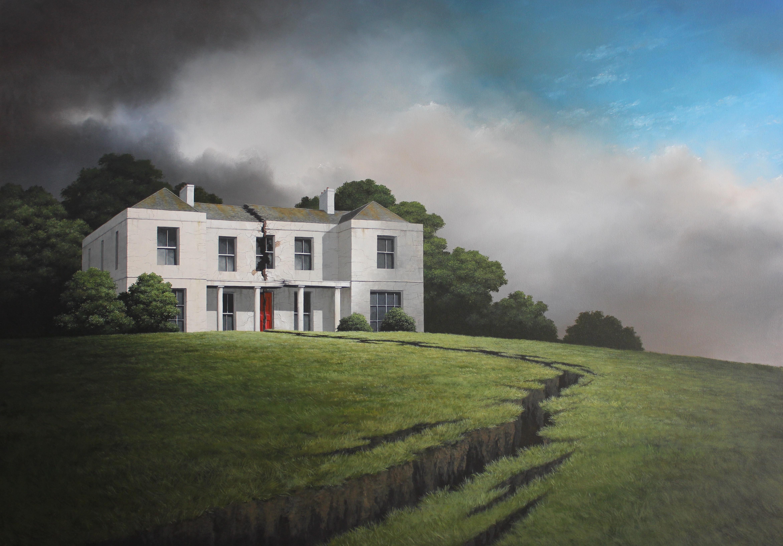 Lee Madgwick - Severance - 140x100cm - olio e acrilico su tela - 2017