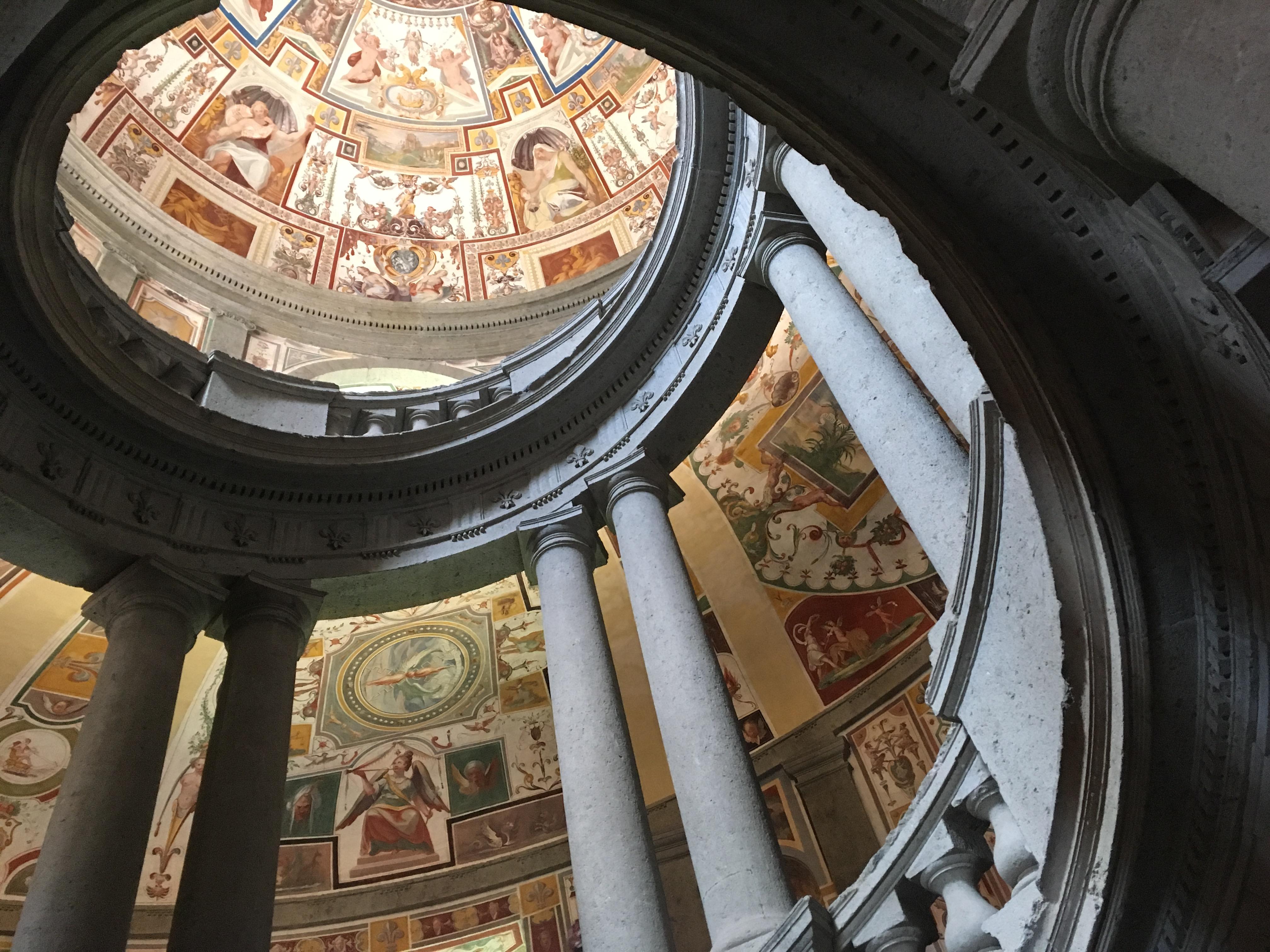 Scala Regia, Palazzo Farnese - Caprarola (Vt) - Orizzonte Cultura (ph. I.M. Melis)