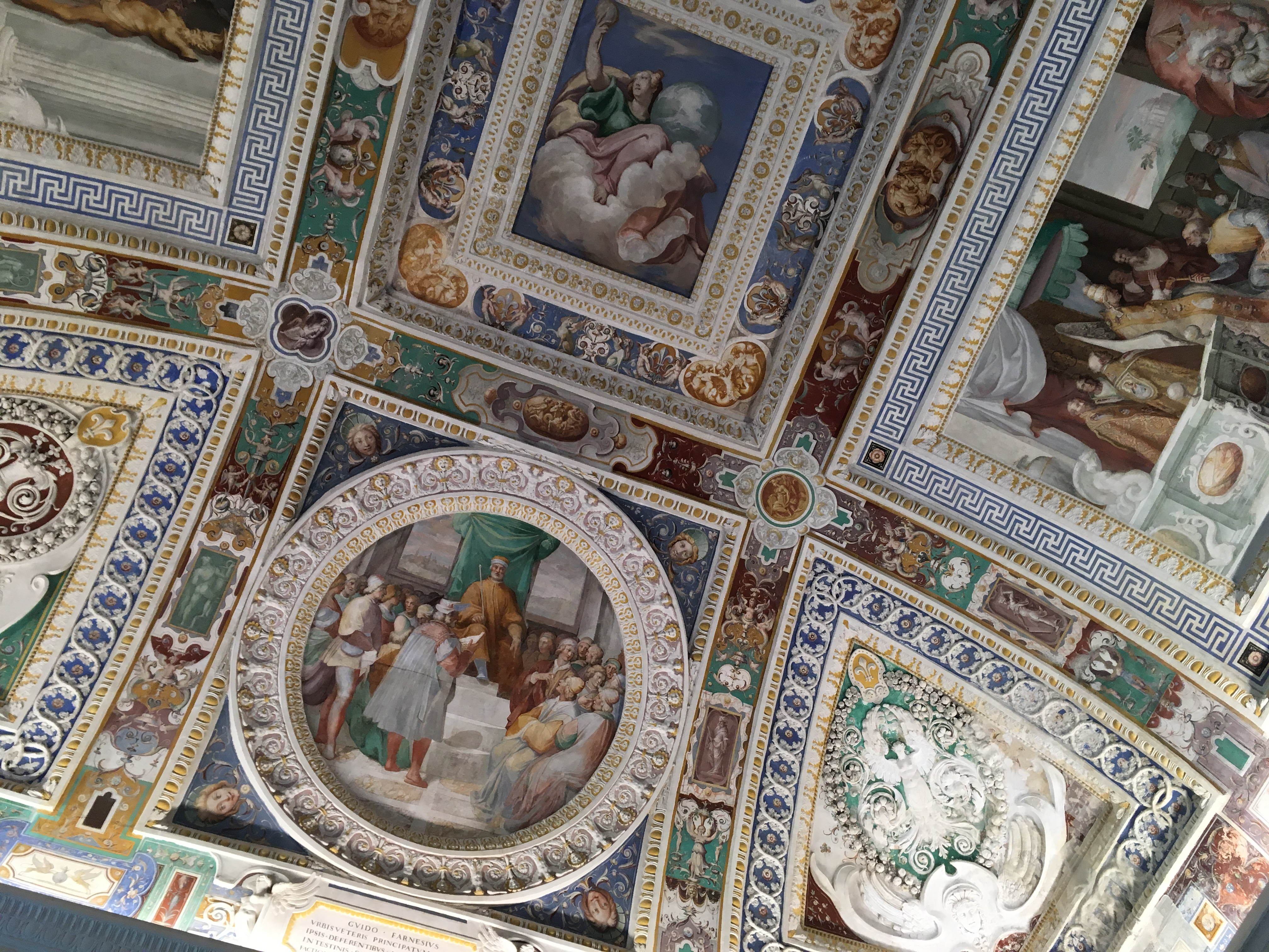 Stanza dei Fasti Farnesiani, Palazzo Farnese Caparola - Orizzonte Cultura