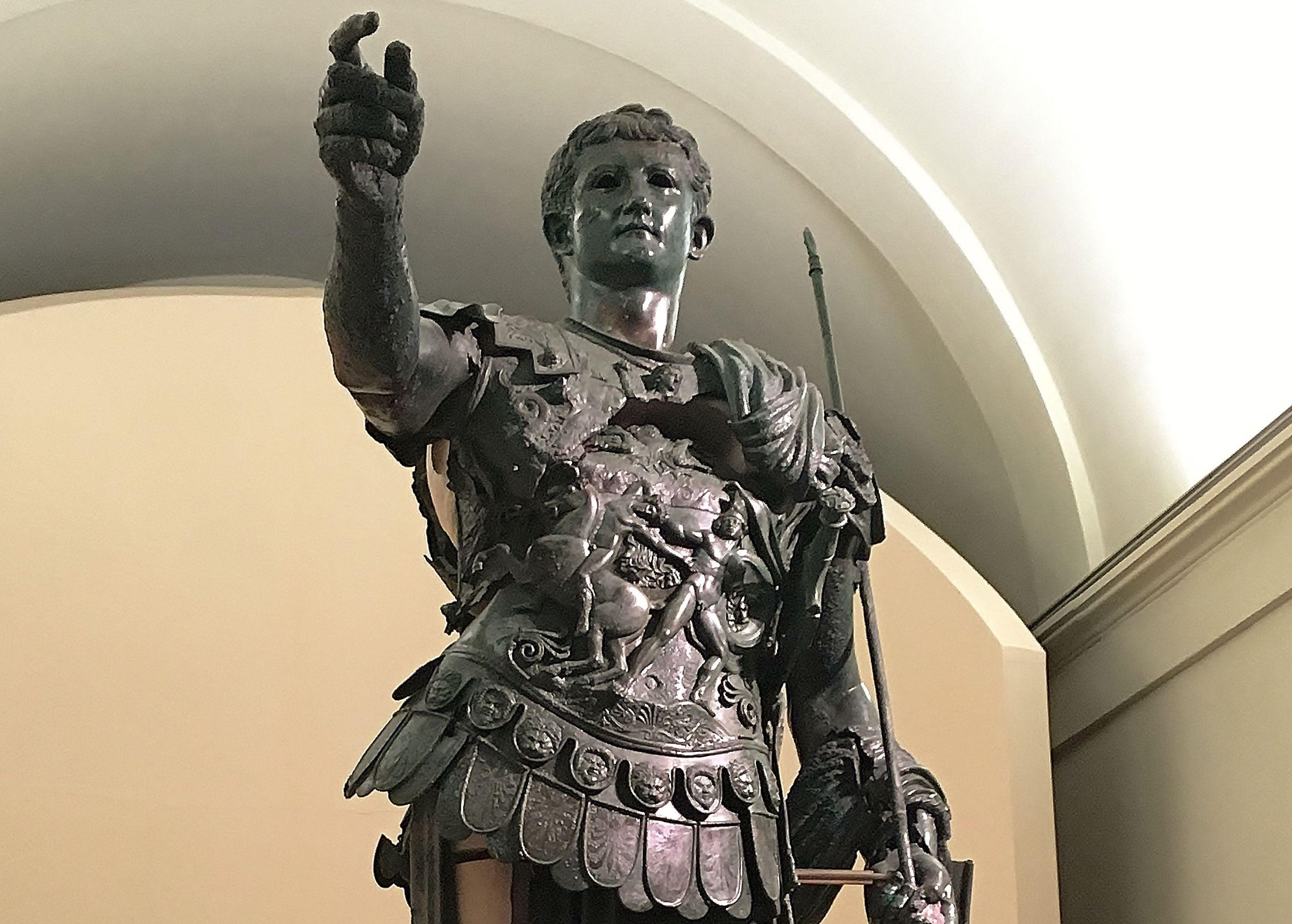 Statua bronzea di Germanico, Museo Archeologico di Amelia