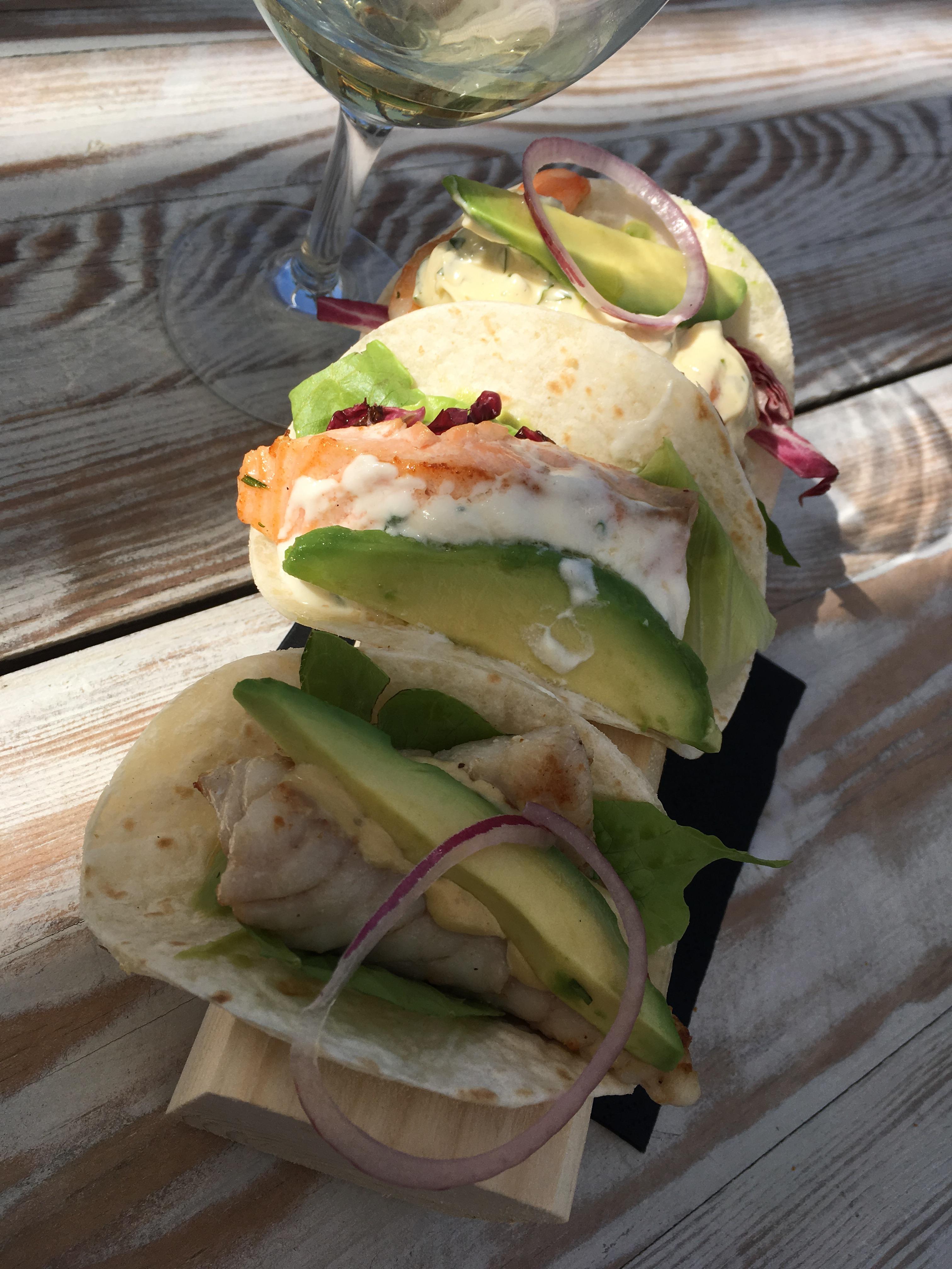 Tacos di pesce - SeaFood Festival al Gilda on The Beach di Fregene - Orizzonte Cultura