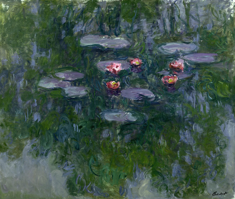Claude Monet (1840-1926) Ninfee, 1916-1919 Olio su tela, 130x152 cm Parigi, Musée Marmottan Monet © Musée Marmottan Monet