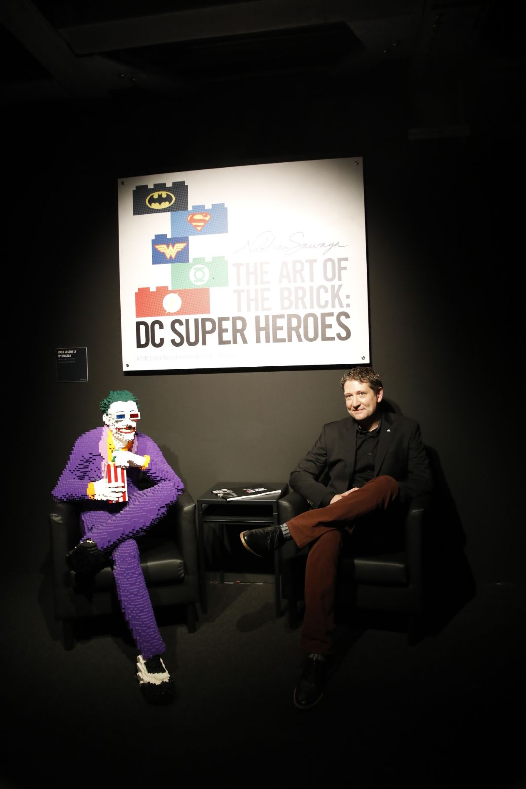 Joker e Nathan Sawaya