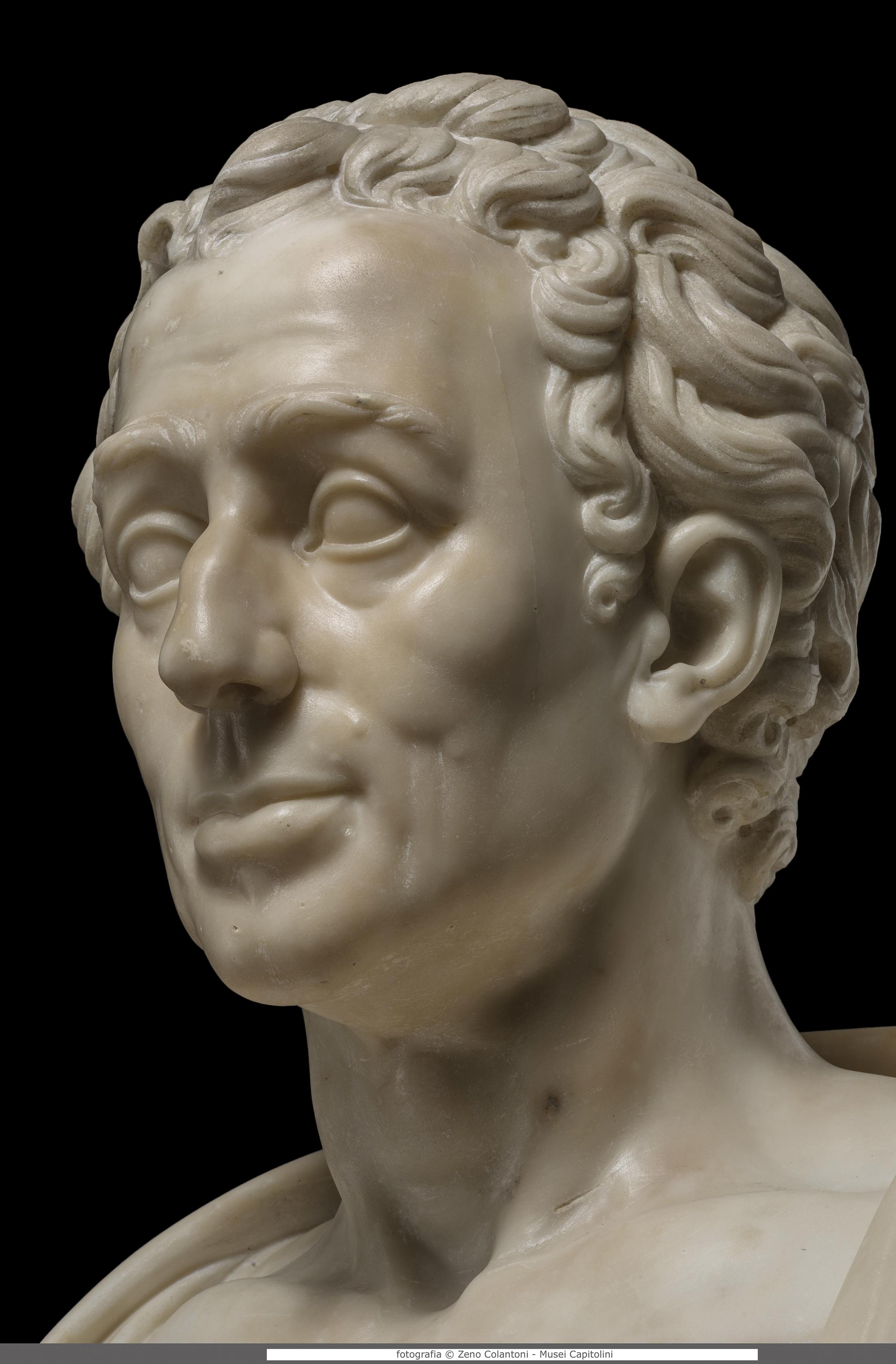 F.G. Doell, Winckelmann, 1782, Musei Capitolini, Protomoteca inv. Pro 47 Foto di Zeno Colantoni