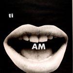 Mirella Bentivoglio AM - (ti amo), 1970 letraset e collage su cartoncino, 69,5 x 50 cm Mart, Museo di arte moderna e contemporanea di Trento e Rovereto Archivio Tullia Daenza © MART – Archivio Fotografico e Mediateca