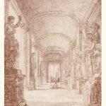Hubert Robert, Un disegnatore nella Galleria capitolina, 1762-1763, Los Angeles, The J. Paul Getty Museum, inv. 200712, Digital image courtesy of the Getty's Open Content Program