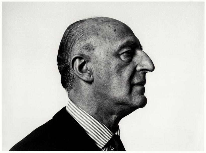 Gillo Dorfles, Milano,1966. Fotografie Ugo Mulas © Eredi Ugo Mulas