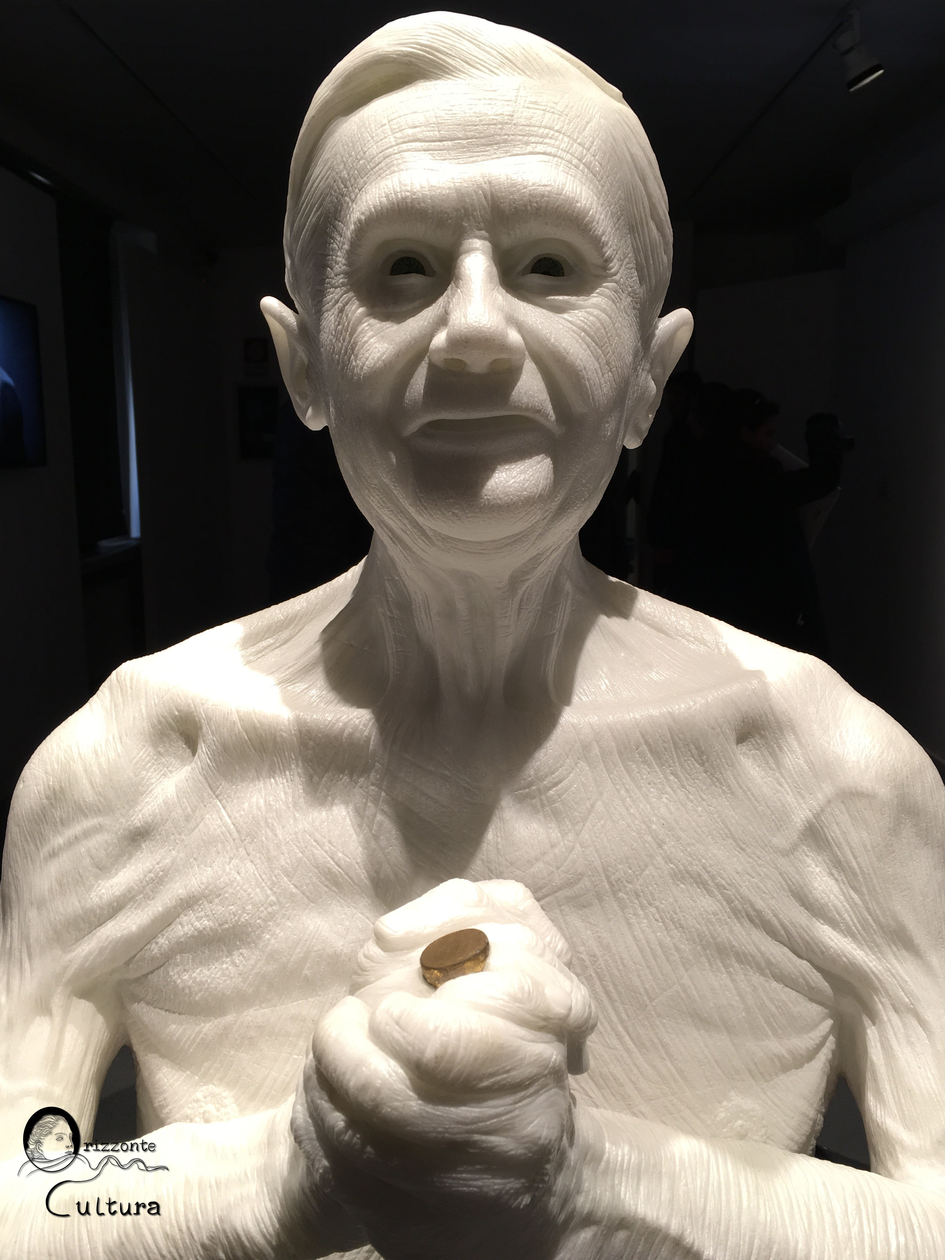 """Jago """"Habemus Hominem"""" al Museo Carlo Bilotti - Orizzonte Cultura (ph. I.M. Melis)"""