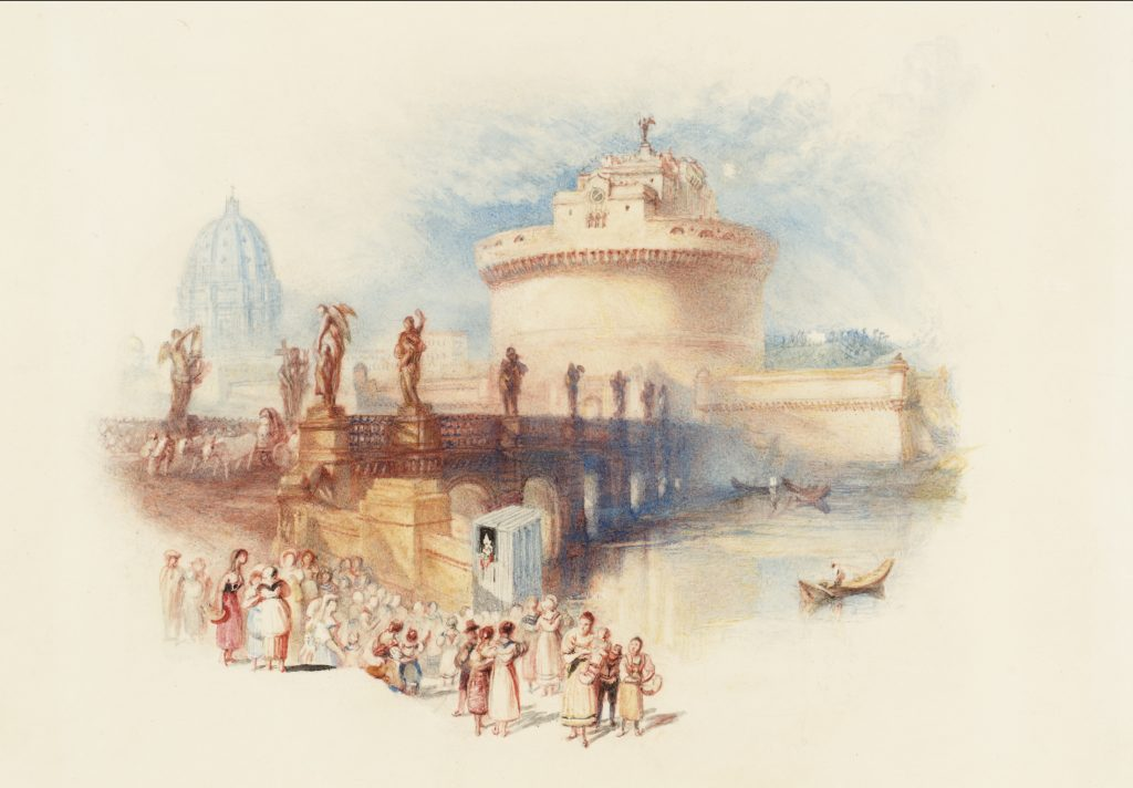 The Castle of St Angelo engraved 1832 Watercolour on paper Tate: Bequeathed by Beresford Rimington Heaton 1940