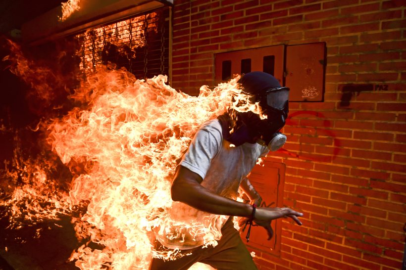 Venezuela Crisis © Ronaldo Schemidt, Agence France-Presse