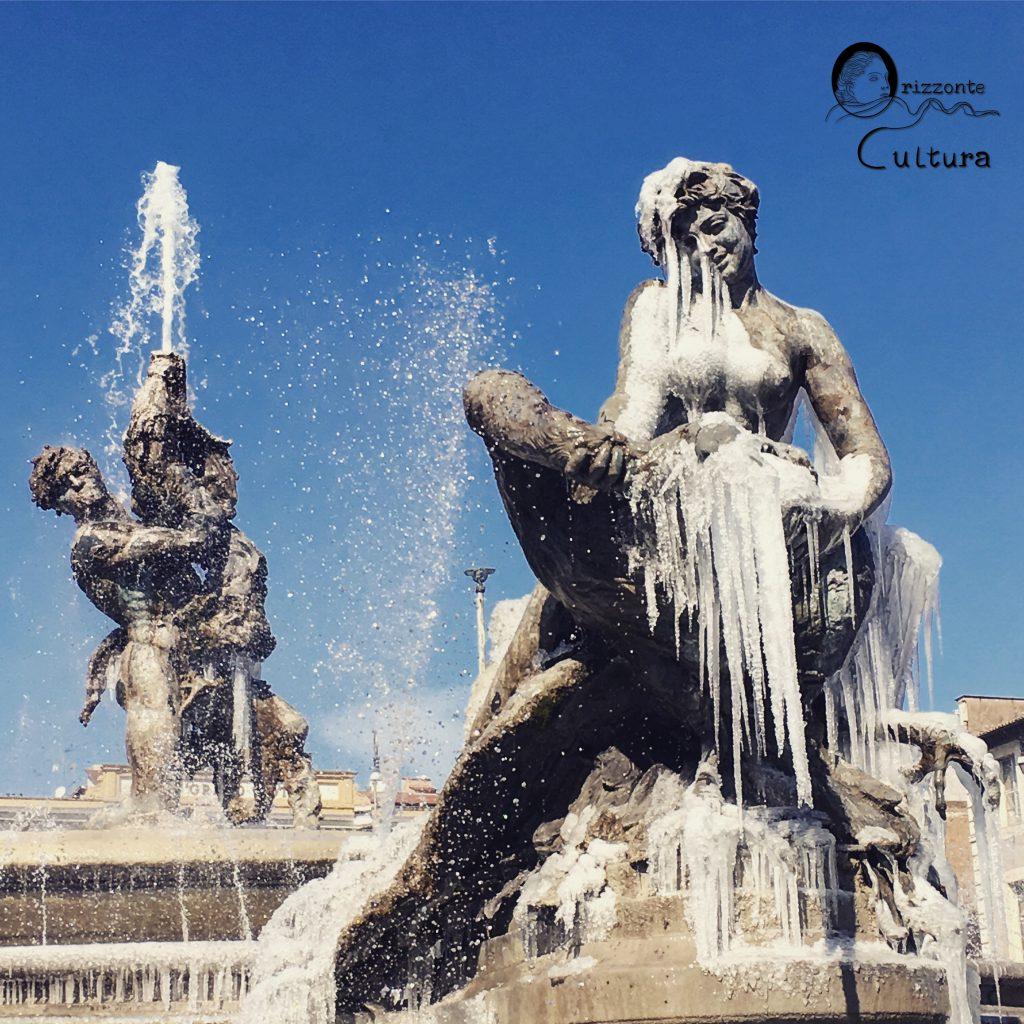 Fontana delle Naiadi di Piazza della Repubblica - Orizzonte Cultura (ph. Ilenia M. Melis)