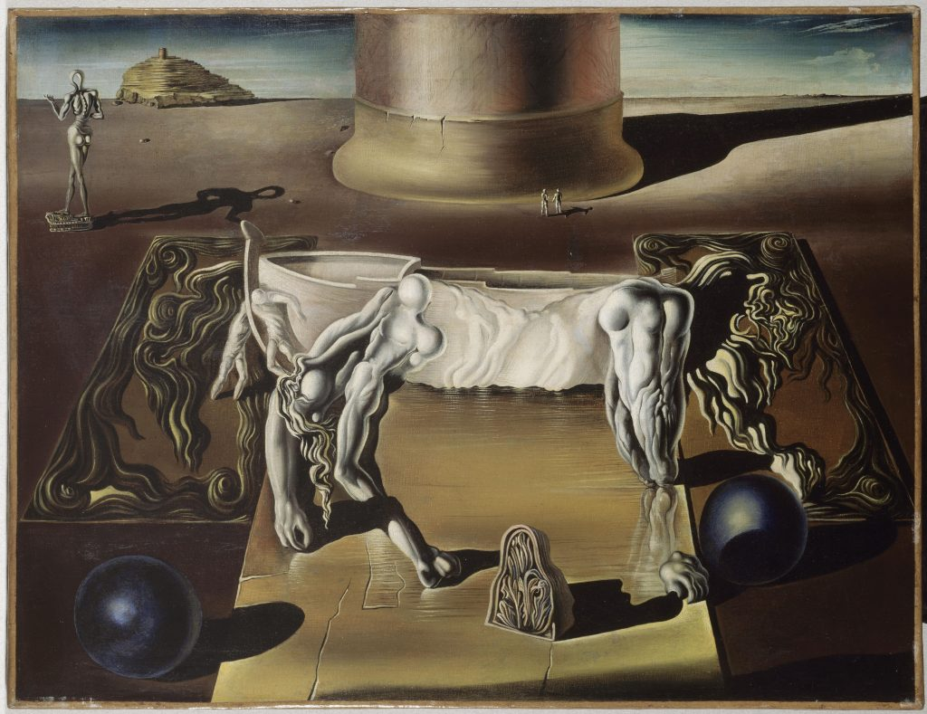 Salvator Dali, Dormeuse, cheval, lion invisibles - Da Magritte a Duchamp