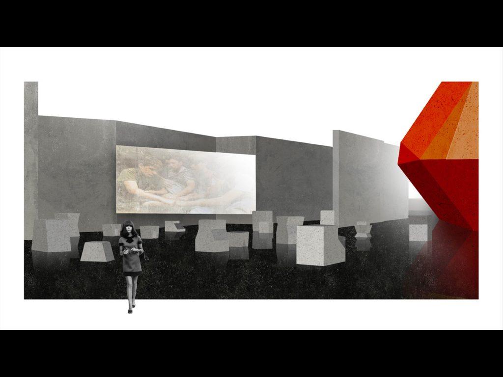 Macro Asilo | Foyer (maxi schermo)