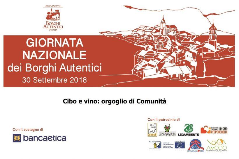 Cibo e vino alla III Giornata Nazionale Borghi Autentici d'Italia - Orizzonte Cultura