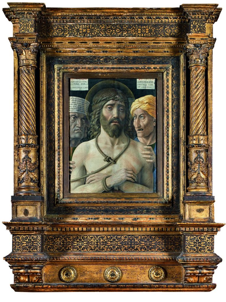 Andrea Mantegna (Isola di Carturo 1431 – Mantova 1506) Ecce Homo, 1500 ca - Paris