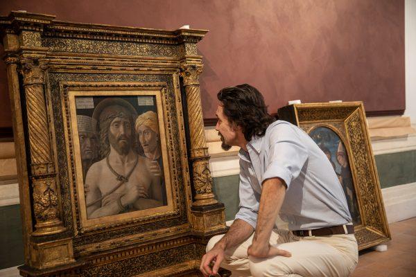 Mantegna, Ecce Homo - La stanza di Mantegna, Palazzo Barberini (ph. Alberto Novelli)