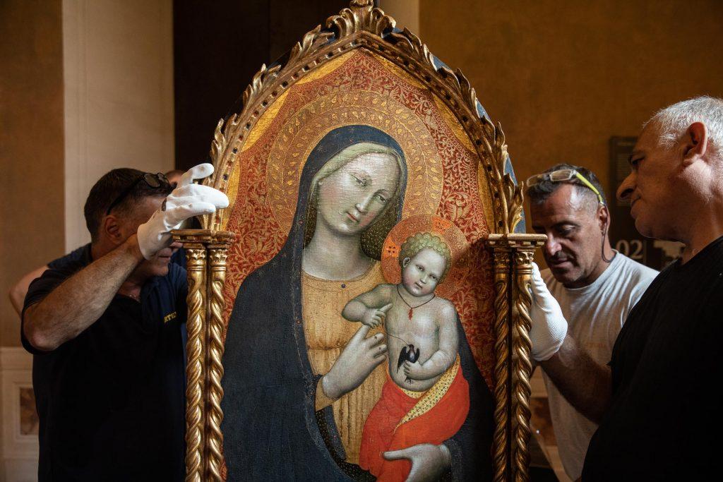 Gotico Americano. I Maestri della Madonna Straus, Palazzo Barberini (ph. Alberto Novelli)