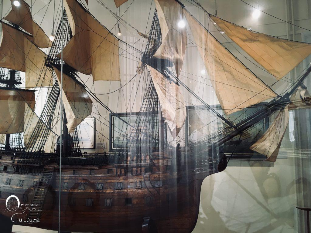 Modellino di nave dal Museo del Mare di Pirano - Orizzonte Cultura (ph. Ilenia M. Melis) Cosa vedere a Pirano