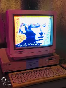 Commodor Amiga 1000 - Orizzonte Cultura (ph. Ilenia M. Melis)