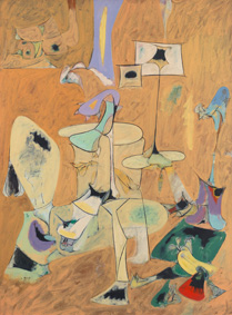 Arshile Gorky ( c. 1902-1948), The Betrothal, II, 1947