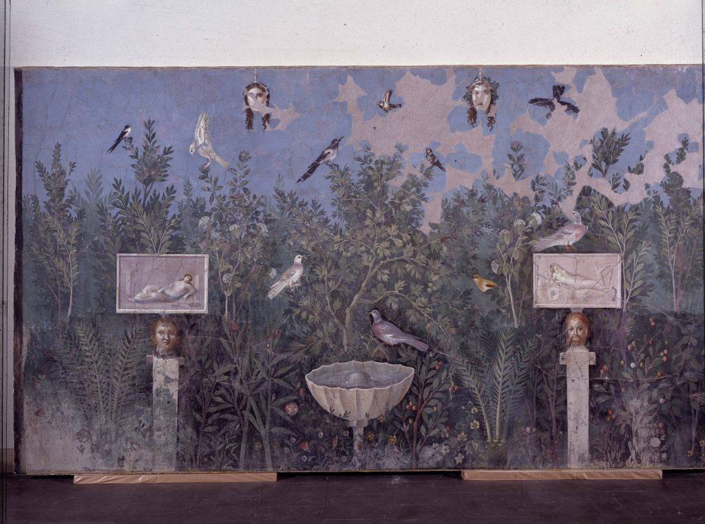 Affresco_Pompei-Casa_del_Bracciale_d'oro - Ovidio_Amori_miti_e_altre_storie